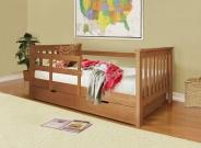 Полутороспальная детская кровать Довиль
