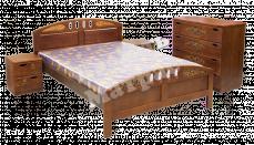 Кровать с ортопедическим  основанием Галант (береза)