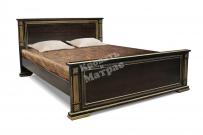 Кровать с ортопедическим  основанием Шартр из дуба