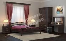 Деревянная кровать Санс 2