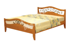 Деревянная кровать Хорт (ковка)