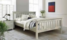 Деревянная кровать Довиль