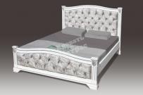 Полутороспальная кровать Ницца со стразами