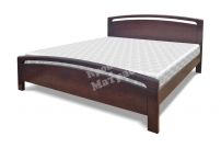 Полутороспальная кровать Лион из дуба