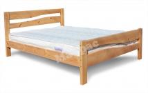 Деревянная кровать Дачница №4