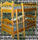 Кровать с ортопедическим  основанием двухъярусная Лукка
