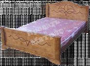 Кровать с ортопедическим  основанием Лидия