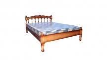 Кровать с ортопедическим  основанием Подсолнух (резьба)