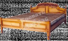 Кровать с ортопедическим  основанием Адмирал (резьба)