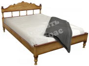 Кровать Альджеба из массива