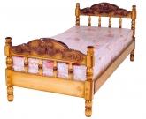 Кровать с ортопедическим  основанием Точенка №1