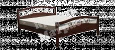 Кровать с ортопедическим  основанием Мальва (ковка)