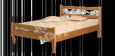 Кровать с ортопедическим  основанием Катания (ковка)