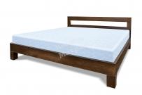 Кровать с ортопедическим  основанием Бормио из дуба