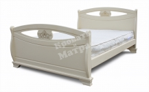 Деревянная кровать Дижон