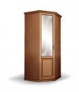 Шкаф 1-створчатый угловой из сосны из серии