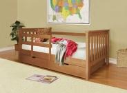 Детская кровать Довиль с матрасом