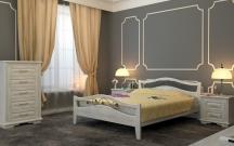 Кровать Санс 1 с матрасом