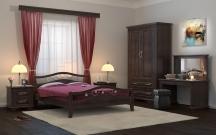 Кровать Санс 2 с матрасом