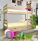 Кровать двухъярусная Омаль 1 с матрасом