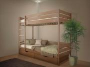 Кровать двухъярусная Омаль 2 с матрасом