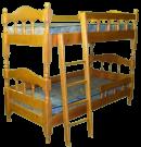 Кровать двухъярусная Лукка с матрасом