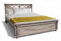 Кровать с ортопедическим  основанием Таранто из дуба