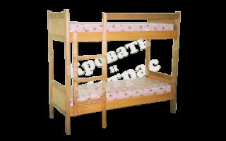 Кровать двухъярусная Омаль 3