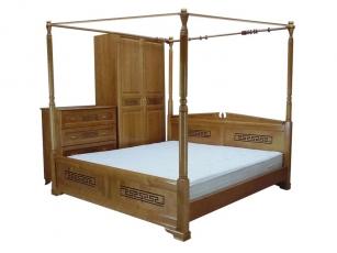 Кровать Неаполь с балдахином