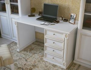 Однотумбовый письменный стол из серии