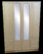 Шкаф 4-х створчатый из серии
