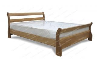 Кровать Алия из дуба